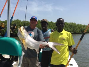 captainfish paradise fishing gambia