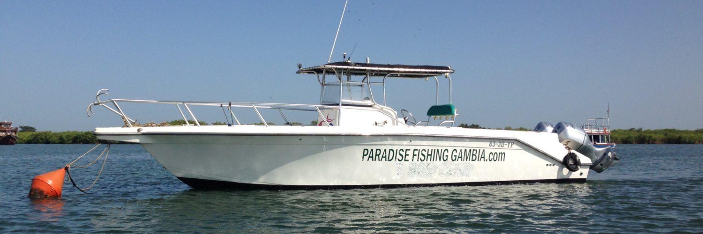 Paradise Fishing Gambia fishing trips